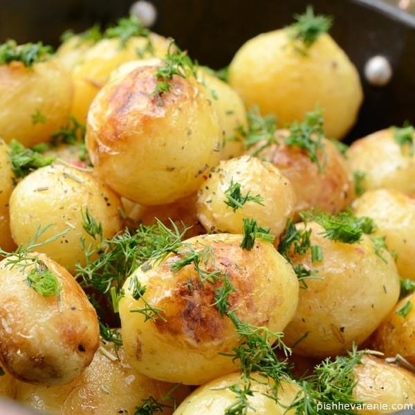 Картофель с мясом и сыром калорийность
