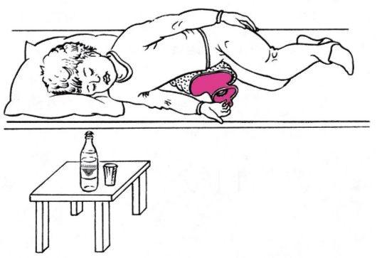 Очищение печени и желчного пузыря тюбаж