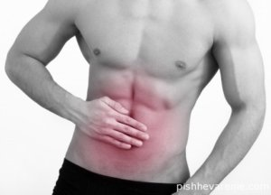 Диарея - один из симптомов колита