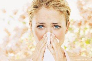 Аллергическая реакция на цветение