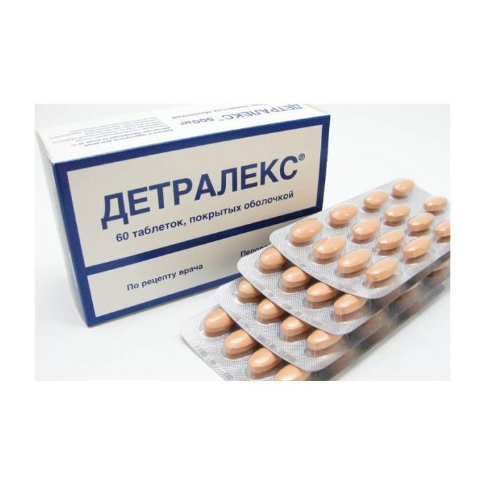 Детралекс таблетки: инструкция по применению, особенности препарата