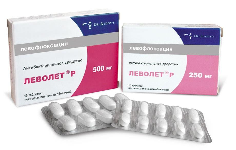 Левофлоксацин или моксифлоксацин при простатите