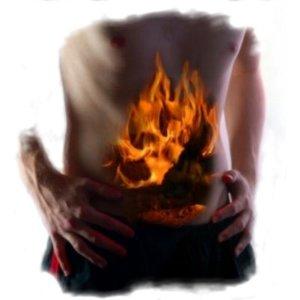Неправильное питание может вызвать изжогу