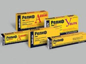 Один из препаратов для лечения геморроя