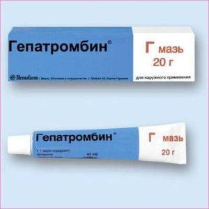 Гепатромбин для лечения геморроя