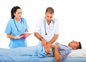 Обследование больного с жалобами на расстройства пищеварения