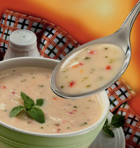 Крем-суп из овощей - не только полезно, но и вкусно