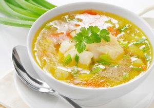 Легкие супы для желудка - самое то!
