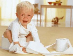 Ребенок страдает от запора
