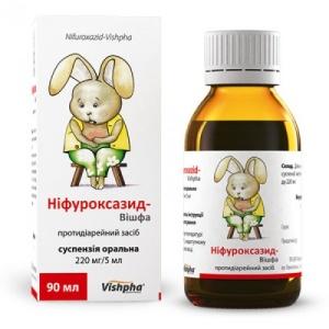 Нифуроксазид сироп