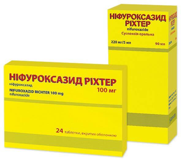 Нифуроксазид сироп: инструкция по применению, как действует препарат и когда его принимать