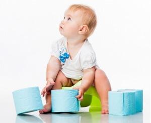 Зеленый стул у ребенка 1 год