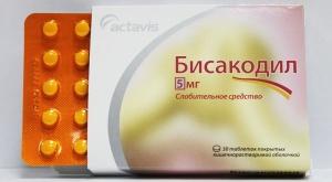 Через сколько действует Бисакодил и как правильно принимать это лекарство