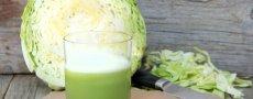 Капустный сок при язве желудка, особенности применения