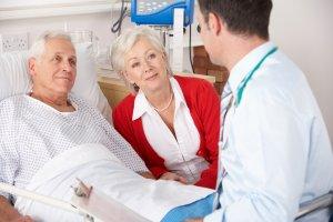 Пациент после удаления аппендикса