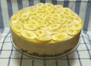 Торт из банана