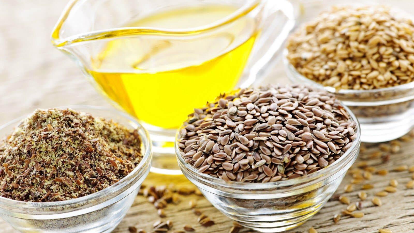 Использование семян льна при панкреатите, рецепты, масло льняное