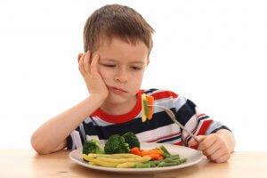 Потеря аппетита в детей