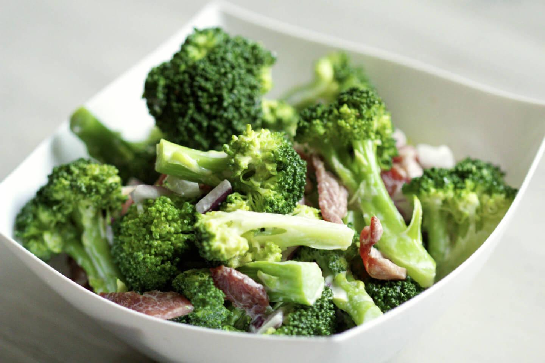 Брокколиы приготовления салаты
