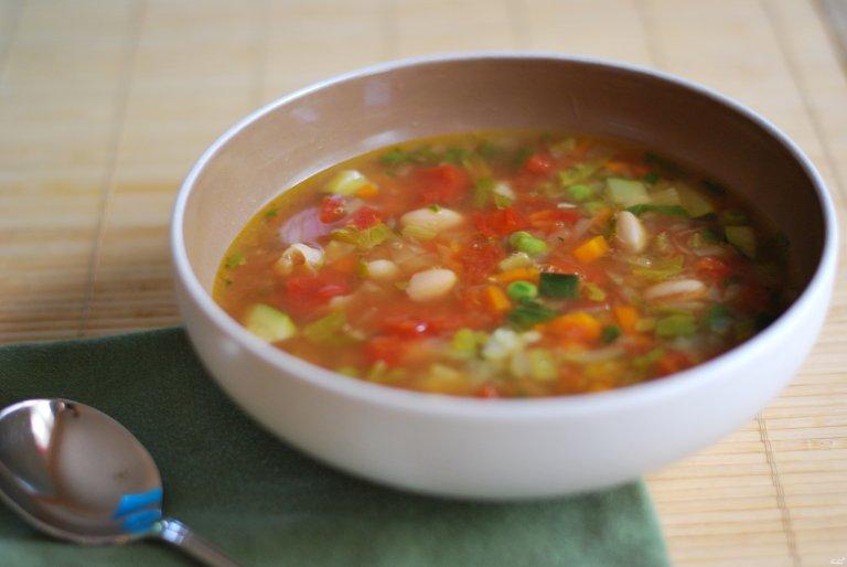 Суп болгарским перцем рецепт фото