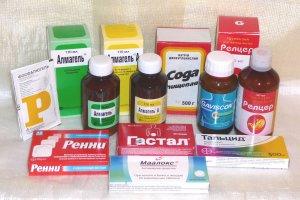 Изжога: лечение в домашних условиях