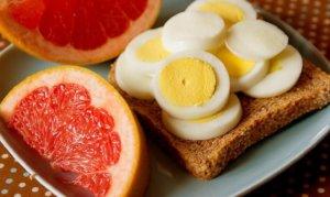 Яично-грейпфрутовая диета на 4 недели