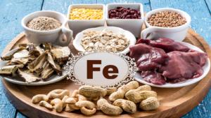 В каких продуктах содержится железо: сравнительная таблица