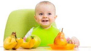 Груши в питании ребенка