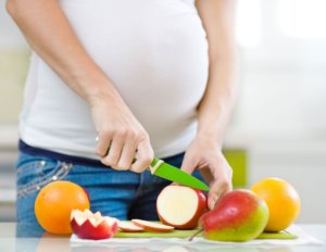 Груши в рационе у беременной