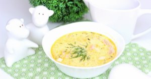 Суп-пюре со сливками
