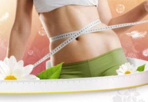 Похудевшая девушка