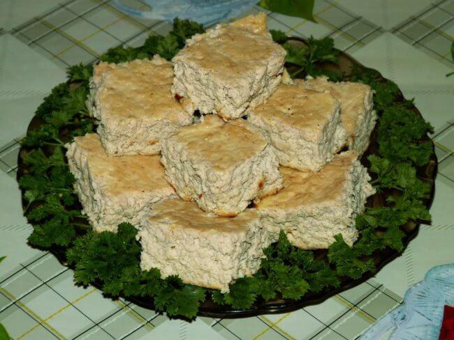 Мясное суфле с рисом