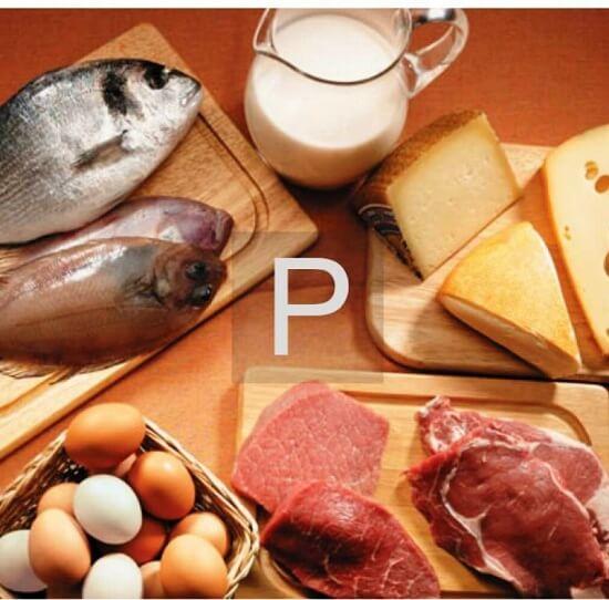 Фосфор в продуктах питания — таблица нормативных значений и его роль в организме