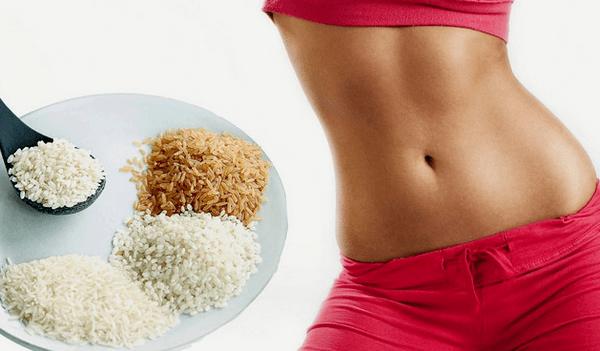 Похудение с помощью риса