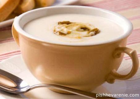 Суп пюре картофельный с курицей и другие диетические блюда при болезнях ЖКТ