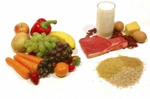 Употребление жирной пищи сводится к минимуму