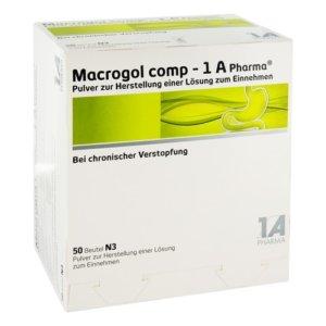 Макрогол. Упаковка препарата
