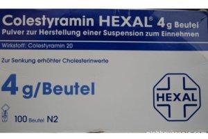 Холестирамин - для приготовления суспензии