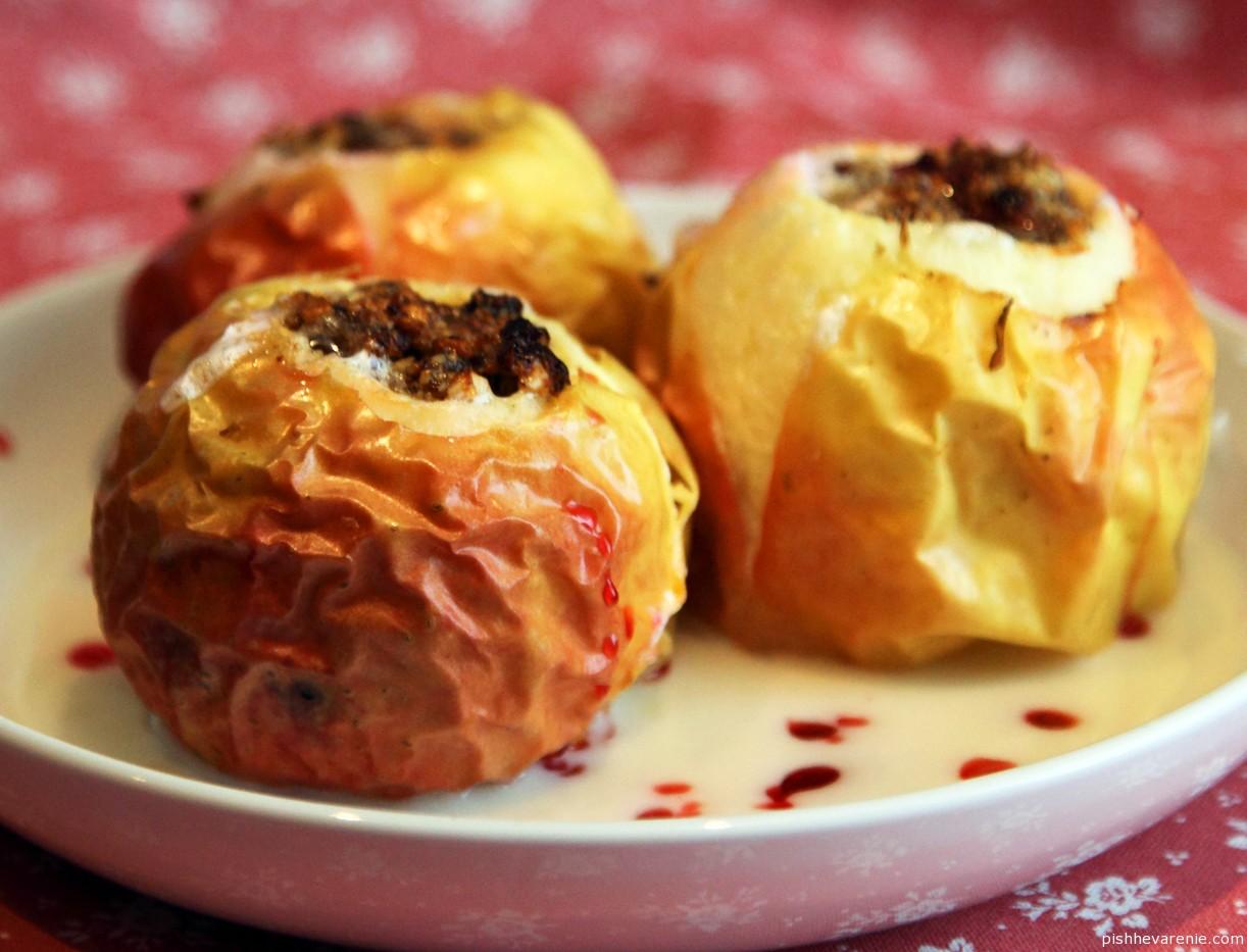 Такие полезные и вкусные печеные яблоки в духовке...