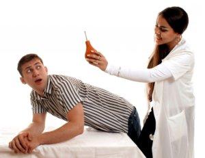 Постановка клизмы - малоприятная процедура