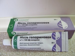 Мазь гепариновая для лечения геморроя