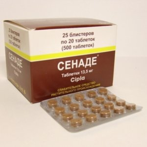 Сенаде - препарат на основе экстракта сенны