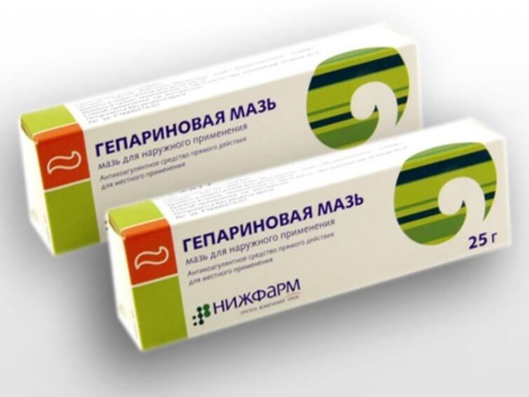 Гепариновая мазь при геморрое: принцип действия, взаимодействие с другими препаратами
