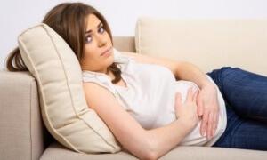 Кишечная колика у беременной женщины