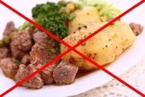 отказ от жырной пищи