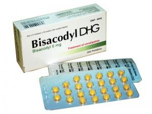 Таблетки Бисакодил