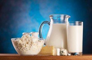 Нежирные молочные продукты