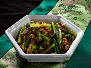Соевый салат