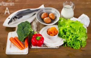 В чем находится витамин А