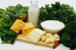 Содержание кальция в продуктах питания